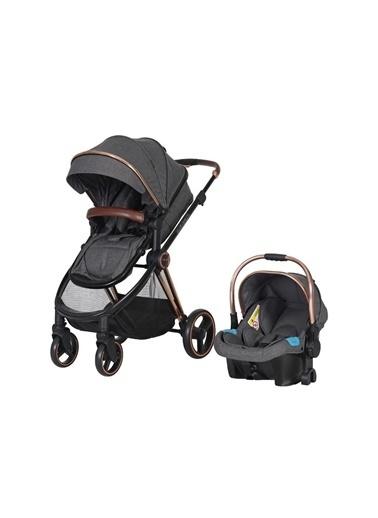 Prego Prego 2098 Macan Travel/Seyahat Sistem Bebek Arabası Gri